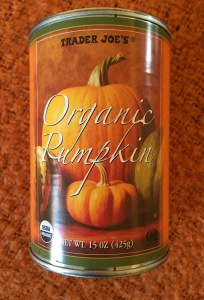 Trader Joe's canned organic pumpkin