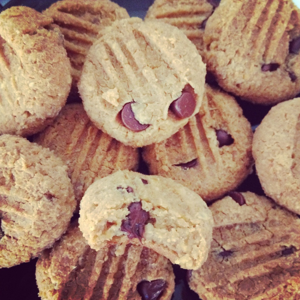 Chickpea + Peanut Butter Cookies