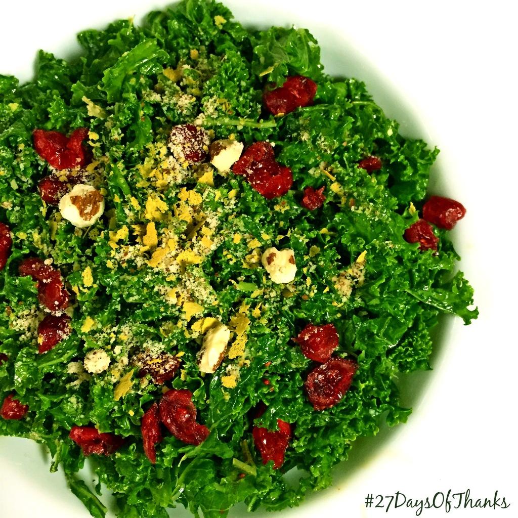 healthyhappyjess Kale Salad